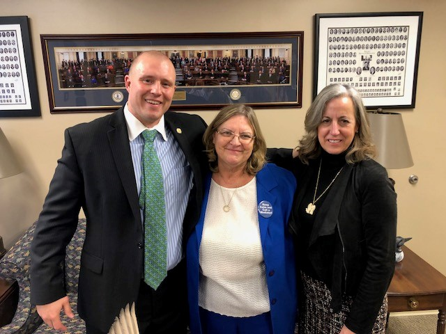 LP and LB with Delegate Weber